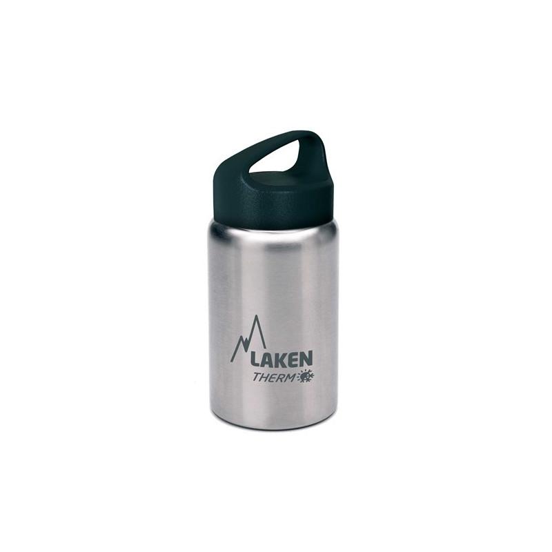 St. steel thermo bottle 18/8 - 0,35L - Plain