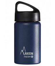 St. steel thermo bottle 18/8 - 0,35L - Blue