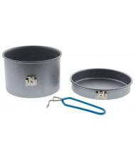Non stick aluminium cooking set 1 p.