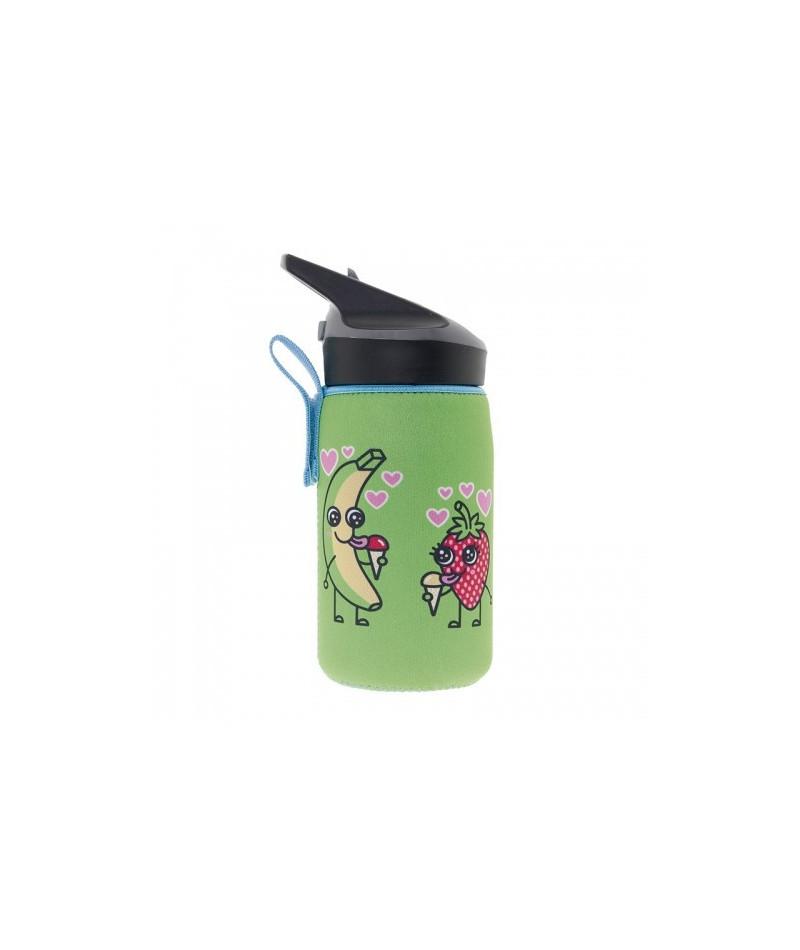Tritan bottle 0,45L Katuki - neoprene cover Tutti
