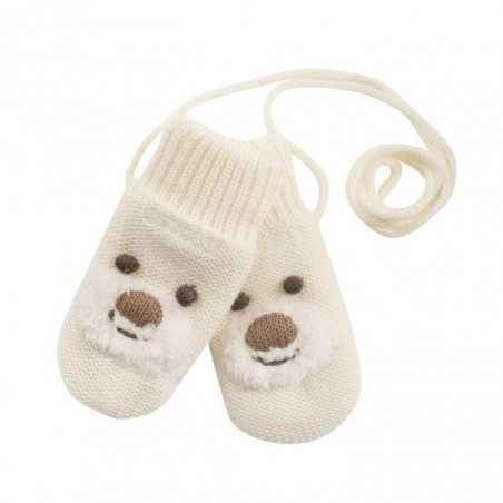 Bear Baby Mitten
