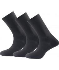 Daily Medium Sock 3pk