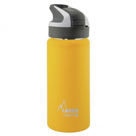 St. steel thermo bottle 18/8 Summit  - 0,50L  - Ye