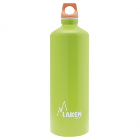 Alu. Bottle Futura 0,75 L.-Pink Cap -Green Bot.