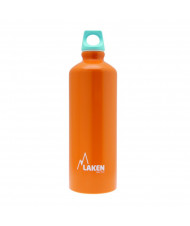 Alu. Bottle Futura 0,75 L.-Blue Cap -Orange Bot.