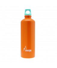 Alu. Bottle Futura 1 L.-Blue Cap -Orange Bot.