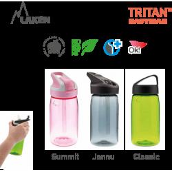 LAKEN JANNU TRITAN plastic bottle 450ml red BPA FREE