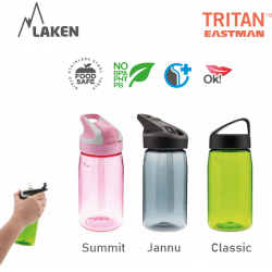 Tritan bottle 0,75 L. Jannu cap magenta