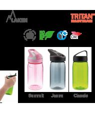 LAKEN TRITAN SUMMIT PLASTIC BOTTLE 450ML GREY BPA FREE
