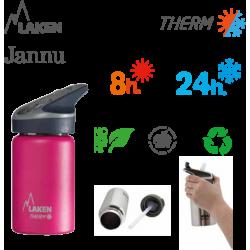 LAKEN JANNU THERMO nerezová termo fľaša 350ml modrá