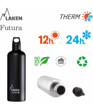 St. steel thermo bottle 18/8 - 0,5L - KT