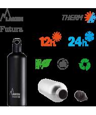 LAKEN FUTURA THERMO stainless thermo bottle 750ml white